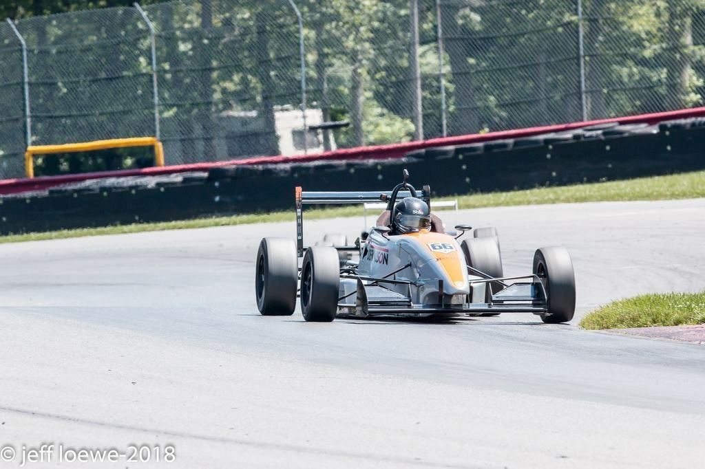 James Roe and ArmsUp Motorsports on the Podium in F2000 Championship Series